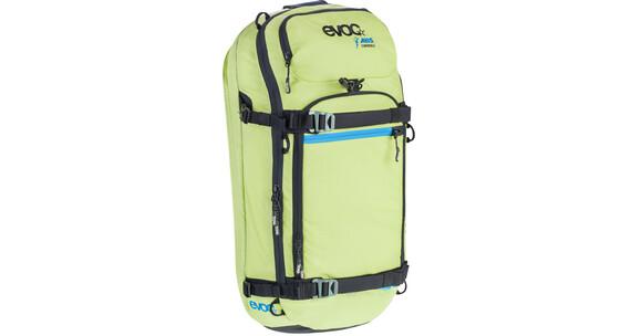 Evoc Zip-On ABS - Pro Lavinerygsæk 20l gul/grøn